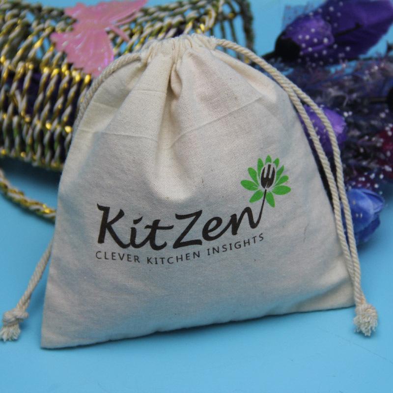 2015 hot selling bulk printing drawstring bags cotton drawstring shoes bag printed with logo