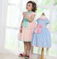 Venta al por mayor poco niñas vestidos de concurso/de moda de diseño pequeño vestido de las niñas