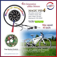 Golden Motor magic pie 4 36V 500W electric bicycle kit with sine wave controller