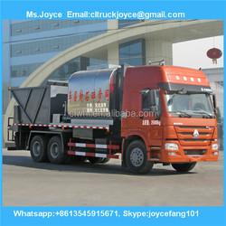 High Way Bitumen Sprayer Tank Truck,26cbm Road Synchronous Chip Sealer