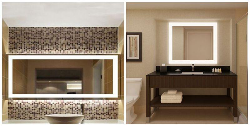 Cheap Illuminated Bathroom Mirrors: Modern Cheap Bathroom Led Backlit Mirror, View Led Backlit