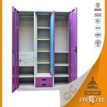 Wholesale furniture customized modular cabinet bedroom furniture clothing wardrobe
