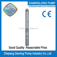 electric stainless steel specification of submersible water pump