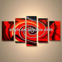 Popular modern handpainted abstract acrylic painting
