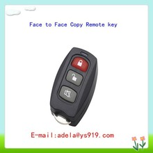 3buttons mini fixed code remote face to face copy wireless remote control duplicator car key with adjustable frequency