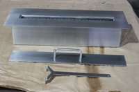 NEW insert stainless steel intelligent fireplace accessory, fireplace tool set, fireplace molds