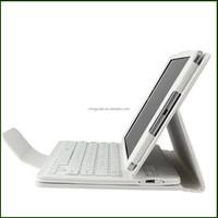 Fashional waterproof PU leather case with keyboard for google nexus 9