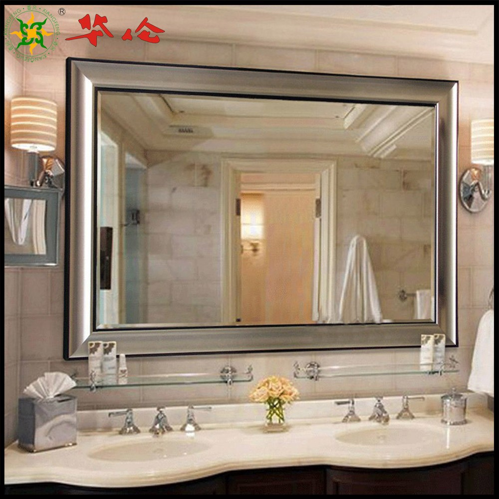 Large mirror for bathroom wall interiors design large bathroom wall mirror 24w x 40h in mirrors at hayneedle amipublicfo Gallery