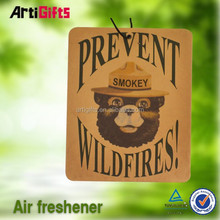 Promotional products absorbent room paper air freshener