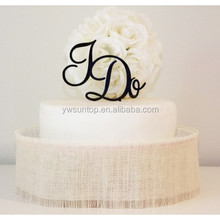 Perfect I Do Acrylic Cake Topper Chinese Wedding Party Accessory