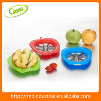 Apple shaped apple cutter