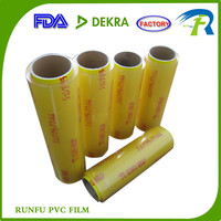 hot sale Stretch Film Sun Wrap, FDA grade film, pvc cling film