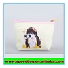 Beauty lady white PU bag small handbag leather cosmetic pouch