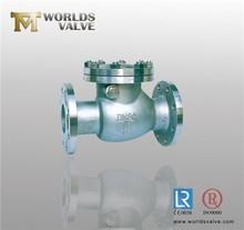 API 6D pressure seal bonnet swing check valve