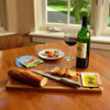 Bamboo Bread And Dip Board Set