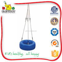 mytestPlastic Tire Swing with PE Rope and Eye Bolt Set