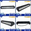 "Y&T14.1"" 80W 9-70V IP67 5000-8000k spot/flood beam led light bar for off road electric scooter"