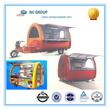 2014 hot sale china with refrigerator battery powered three wheel Electric Snack Food Car