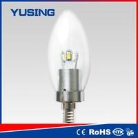 E14 LED candle bulb 360 degrees