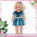 Las muestras disponibles! Juguetes de china con los ojos azules 18 china pulgadas juguetes de importación