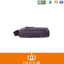 high quality Pu leather canvas men travel toilet bag