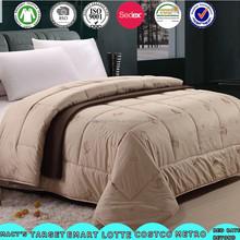 quilt factory wholesaler/thick quilt/camel wool quilt
