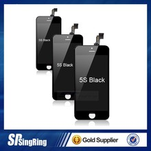 Mobile Phone Repair Tested Working Grade A LCD For iPhone 5s & accept paypal for iphone 5s replacement lcd screen