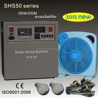 Off grid solar panel system for home 50W 80W 100W with solar TV