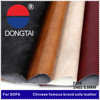 High Quality 100% pu pvc leather factory