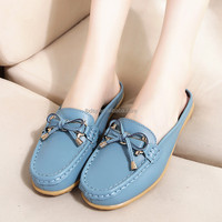 Custom Design New Model Ladies Fancy leather sandals manufacturers