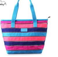 2014 butwhy Women shopping bags,women beach bags,women cotton bags colorful