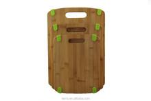 Anti-slip Bamboo Cutting Board With Silincone