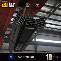 low carbon steel pipe square tube fence post