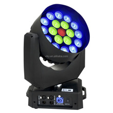 400w super bright mac aura 19*15w 4in1 RGBW led moving head wash light