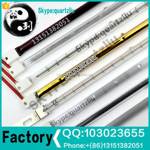 Quartz infrared heating element rod