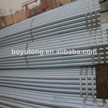 galvanizado en caliente de tubo de acero redondo