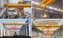 Steel Plant Scrap Grab Overhead Crane