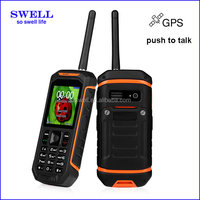 X6 Rugged Mobile Phone IP67 Waterproof gps walkie talkie dual sim military cheap phone uhf mobile phones without camera
