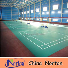 sport courts pvc plastic floor roll/pvc flooring covering NTF-PS100B