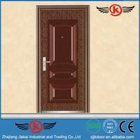 JieKai S9132 exterior door molding / commercial steel security doors / quality front doors