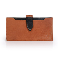 Smartphone pouch leather case for iphone covered button genuine leather phone case