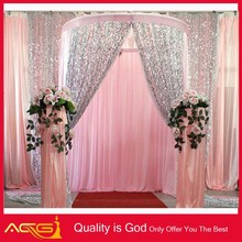 High Quality Wholesale Sequin Shine Light Decoration Wedding Curtain For Wedding
