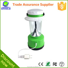 2015 FM RADIO rechargeable Led solar lantern,solar lantern with mobile phone charger