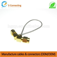 RF Cable Assembly SMA male to IPX/u.FL 1.13mm cable