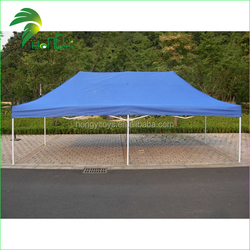 customized side folding blue tent canopy with oxford cloth