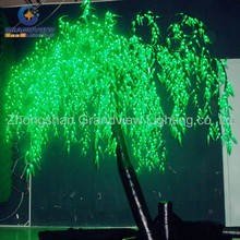 Outdoor holiday decorative LED lighted weeping willow tree light