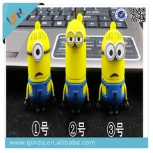 New Arrival Small yellow people super daddy thief daddy despicable me Fashion Cartoon Cute USB Flash DIsk