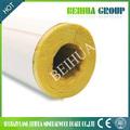 tubos de lana de vidrio con alta calidad para el uso ampliamente