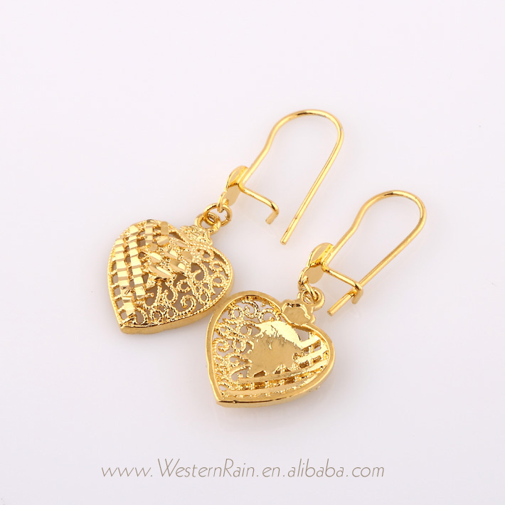 Gold Earrings Tops Designs For Women - More information - Djekova