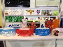 Pet Dog Portable Travel Foldable Water Bowl innovative flat water bowl